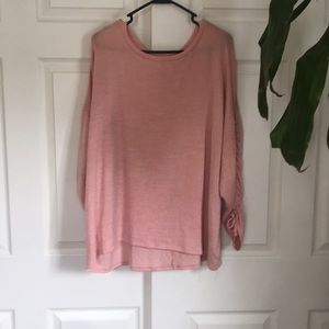 🆕Women's plus Ava & Viv pink sweatshirt